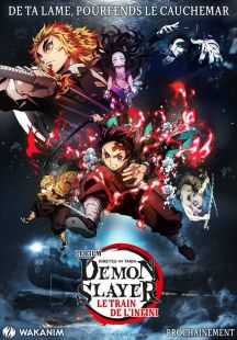 Demon Slayer : Kimetsu no Yaiba - Le Film : Le Train de l'Infini wiflix